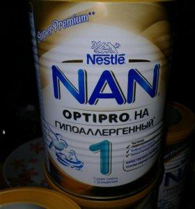 Смесь NAN super premium 1 гипоаллергенный