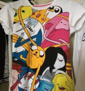 Футболка Adventure Time.