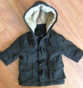 Пальто куртка baby gap 80
