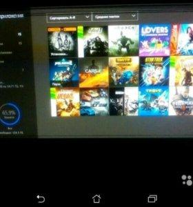Xbox one +15 игр+лайв 3 месяца+гарнитура