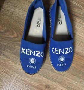 Эспадрильи балетки Kenzo