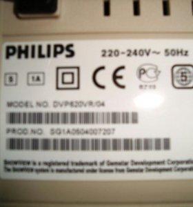 Два в одном Philips DVD CD Rw