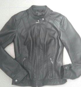 Куртка кожзам р.152