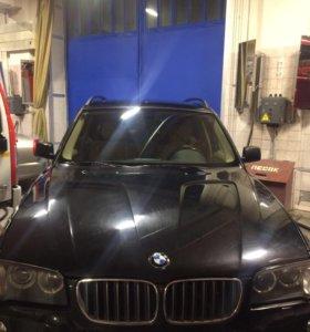 Колодки ручника на BMW X3 E83