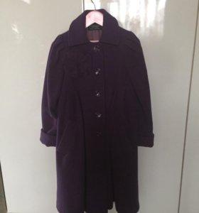 Пальто для девочки р 128-134