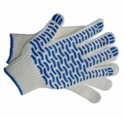 Перчатки х/б. С покрытием волна