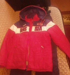 Продам камбенизон и курточку на мальчика