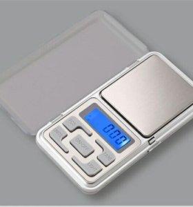 Новые ювелирные весы 0.01-200г.