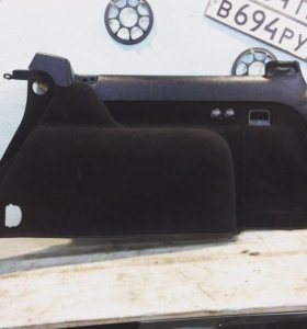 Обшивка багажника на Volkswagen Passat B5