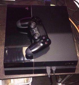 SONY PLAYSTATION 4 500GB BLACK+FIFA 17
