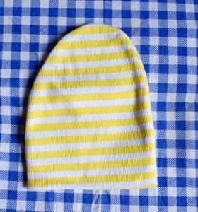 Новая шапочка на малыша до 6 мес.