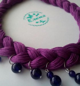 Фиолетовая коса