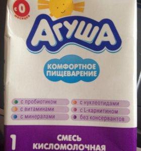 Смесь кисломолочная Агуша-1