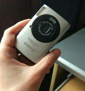 Компактный фотоаппарат Canon Digital IXUS 860 IS
