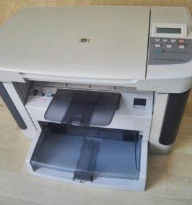 Лазерный мфу HP M1120n, сканер, копир, принтер