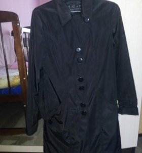 Весенне-осенний плащик и замшевый пиджак