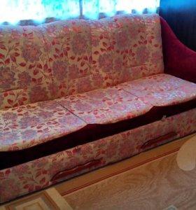 Диван и 2 кресло-кровати