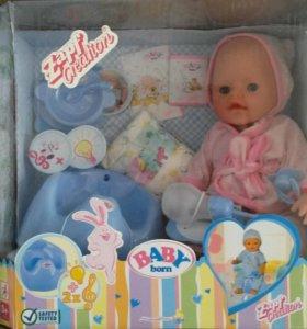 Кукла Baby born новая