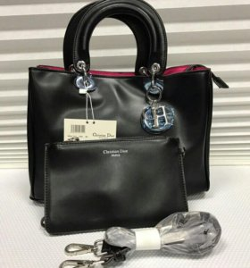 Женская сумка Dior 2 в 1. Новая