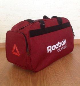 Спортивная сумка Reebok красная