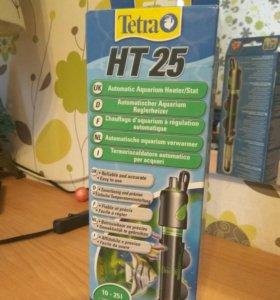 Нагреватель  для аквариума Tetr HT-25 25 Вт  10-25
