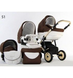 Коляска 3 в 1 Concord Lux car-baby