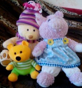 Три игрушки