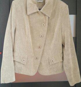 Куртка-пиджак р.50-52 вельвет б/у
