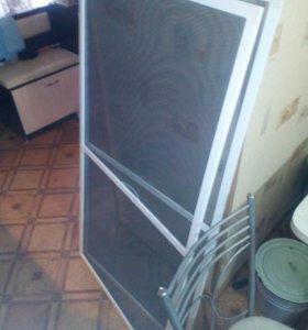 Москитные сетки и двери с установкой