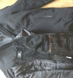 Куртка новая зимняя подклад отстегивается