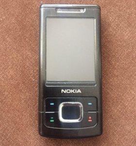 Мобильный телефон Nokia 6500 слайдер