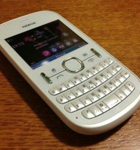 Телефон Nokia 200 белый