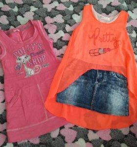 Платья модные