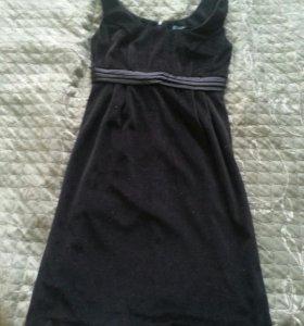 Платье befree бархат