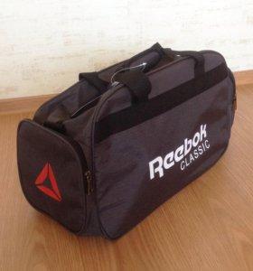 Спортивная сумка Reebok серая