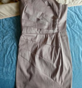 Платье без лямок