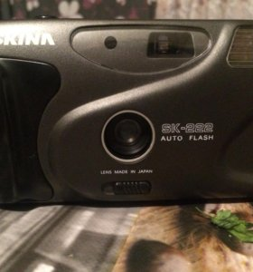 Фотоаппарат плёночный.