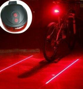 Лазерный стоп сигнал для велосипеда