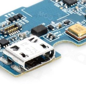 Замена микро USB