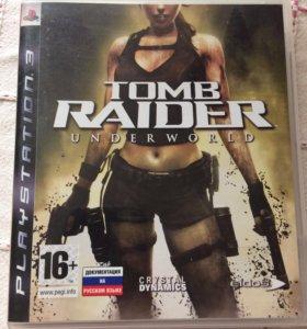 Tomb raider underworld play station 3