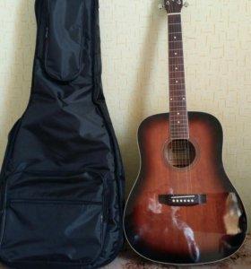 Гитара с чехлом.