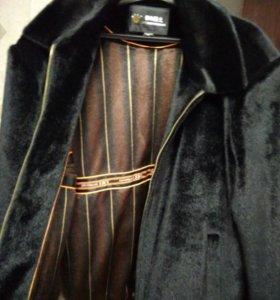 Мужская куртка, новая из искуственной нерпы