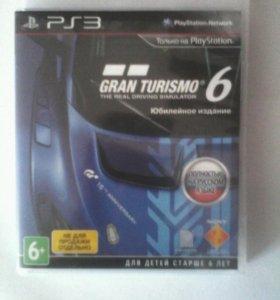 Gran Turismo 6 спец издание ps3