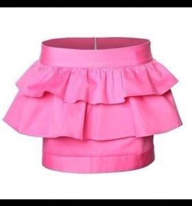 Летняя мини юбка