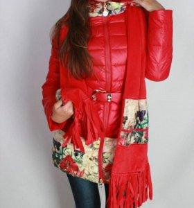 42-50р пальто на весну новое