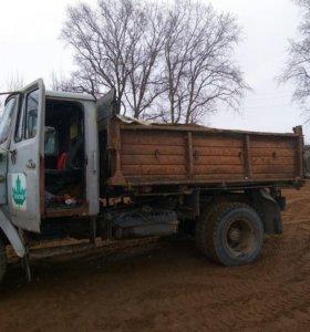 Доставка песка щебня земли на воза торфа итд.