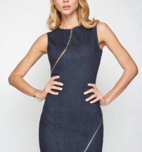 Платье джинсовое темно-синее Concept Club