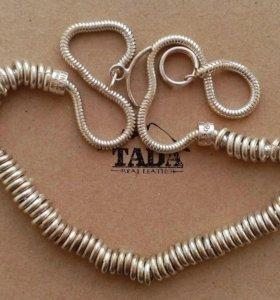 Ожерелье стерлинговое серебро.