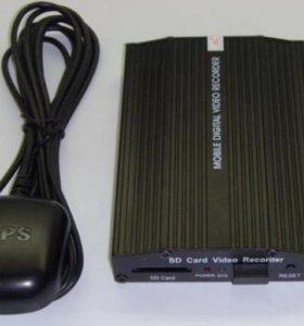 Автомобильный видеорегистратор JDR 509 4-канальный