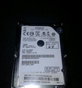 750Гб жесткий диск для ноутбука